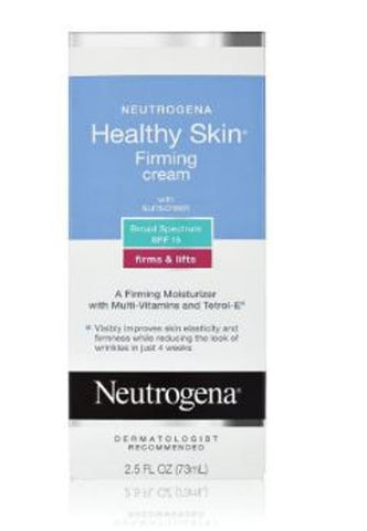 Neutrogena Healthy Skin Firming & Lifts Face Moisturizer Cream SPF 15 2.5 Fl Oz 73 ML