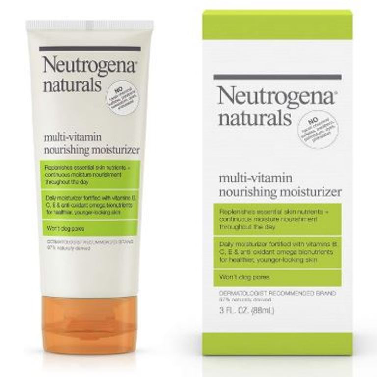 Neutrogena Naturals Multi-Vitamin Daily Face Moisturizer Cream 3 Fl Oz 88 ML