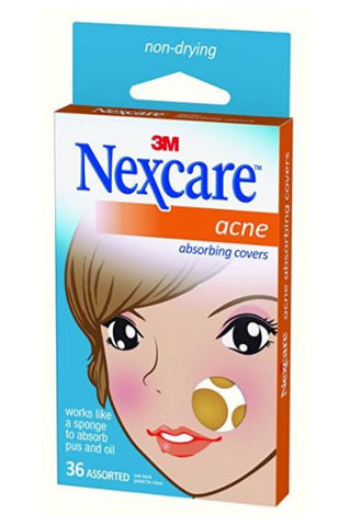 Nexcare 36-PC Anti Acne Pimple Absorbing Cover Remover Patch