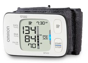 Omron 7 Series Ultra Silent Wrist Blood Pressure BP Monitor