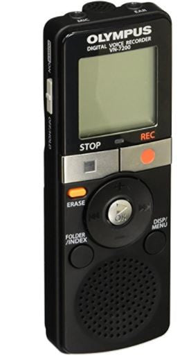 Olympus VN-7200 2GB Digital Voice Sound Recorder