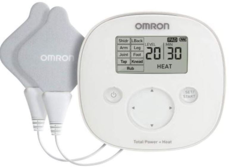 Omron PM800 Total Power + Heat TENS ElectroTherapy Relief Nerve Muscle Joint Chronic Acute Arthritic Pain