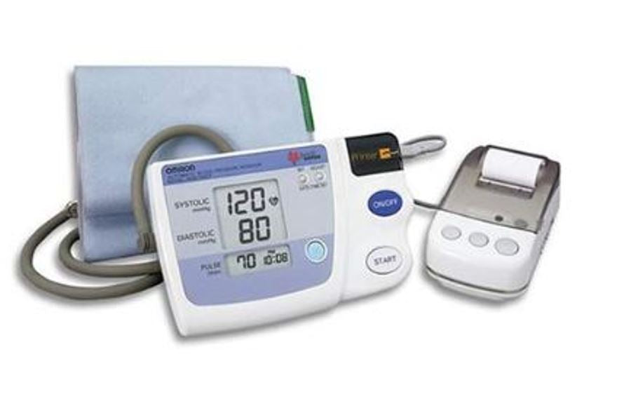 Omron HEM 705 CP Auto Inflate Blood Pressure BP Monitor with Printer