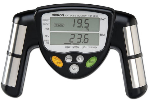 Omron HBF-306 Handheld Body Fat Loss Monitor