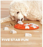 Outward Hound Nina Ottosson Dog Smart Beginner Dog Puzzle Dispensing Game Toy Orange
