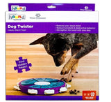 Outward Hound Nina Ottosson Dog Twister Advanced Dog Puzzle Dispensing Game Toy Purple