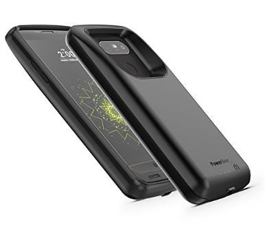 the latest 0c0d7 37fc1 Powerbear LG G5 4000mAh Extended Battery Case Screen Protector