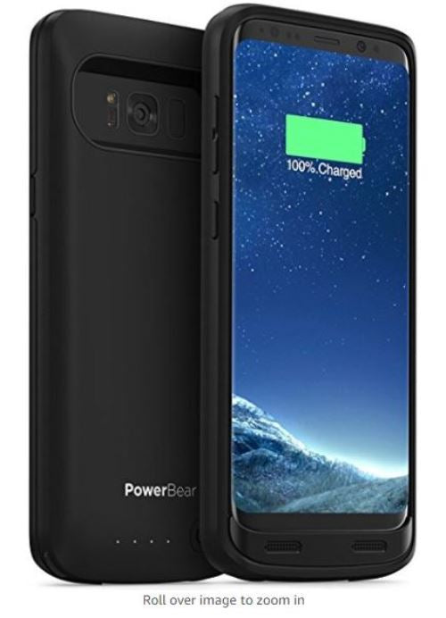 Powerbear S8 4500mAh Extended Battery Case Samsung