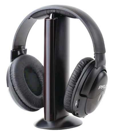 PYLE Home PHPW5 5-in-1 Wireless Headphones Headset System