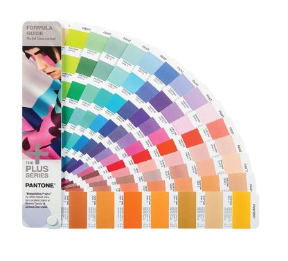 Pantone GP1601N Formula Guide 1,867 Colors Solid Uncoated Only