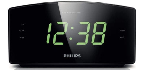 Philips AJ3400/37 Digital Tuning Alarm Clock Radio