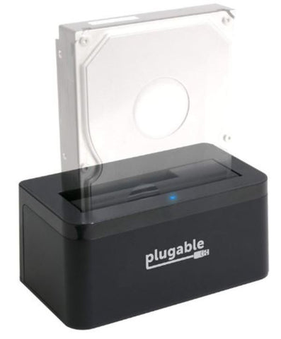 Plugable USBC-SATA-V SATA Upright Hard Drive SSD HDD Dock