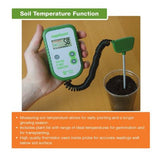 Rapitest 1835 Soil Moisture pH Fertility Tester Meter Analyzer