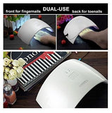 SUNUV SUN9C 24W LED UV Nail Dryer Curing Lamp Fingernail Toenail