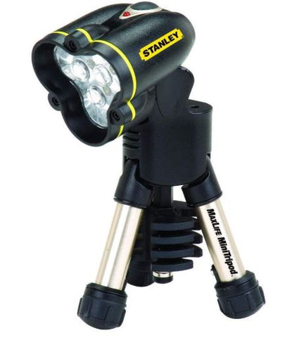 Stanley Hand Tool Maxlife Mini Tripod LED Flashlight