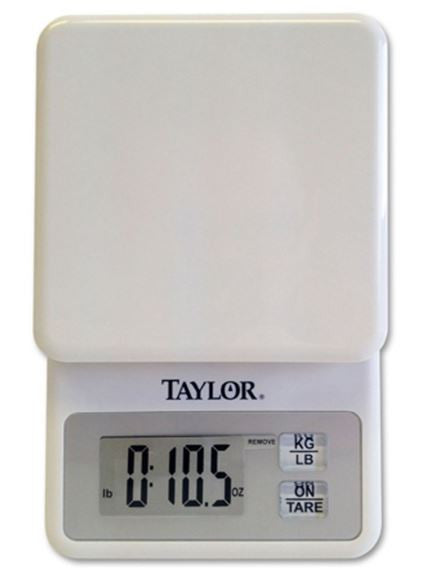 Taylor 3817 11-LB/0.1 Gram Digital Compact Weighing Scale