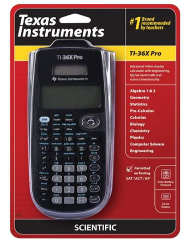 Texas Instruments TI-36X Pro Engineering Scientific Calculator