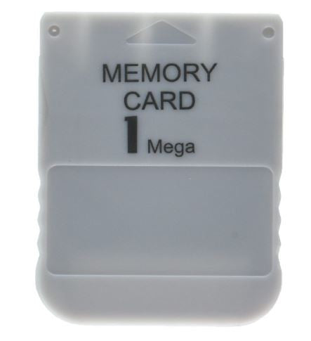 Tomee Playstation 1MB PS1 PS2 Games PSone Memory Card