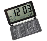 Tzou LCD Digital Travel Desk Electronic Alarm Temperature Clock