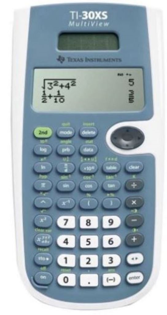 Texas Instruments TI-30XS 4-Line MultiView Scientific Calculator