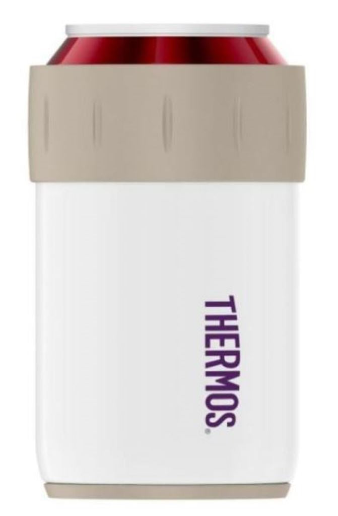 Thermos 12-Ounce Stainless Steel Beverage Insulator Can