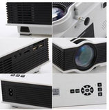 UC40 LCD Projector With LED Lamp Portable Projector 800 Lumens