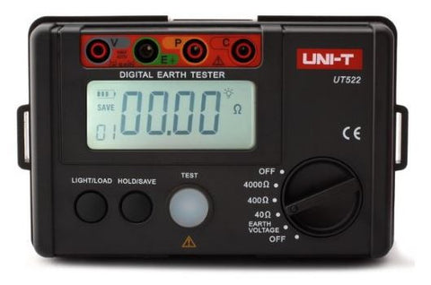 UNI-T UT522 Digital Earth Ground Insulation Resistance Tester