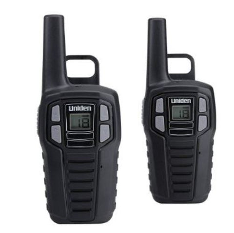Uniden SX167-2CH 16-Mile Rechargeable Two 2 Way Radios Walkie Talkie