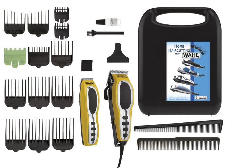 Wahl 79520-3101 Groom Pro 22 Piece Grooming Clipper Haircut