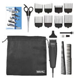 Wahl 9633/1601 HomeCut 16-Piece Grooming Clipper Haircut Razor