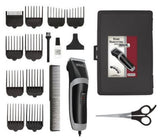 Wahl 9655/500 Dual Voltage 17-Piece Grooming Clipper Haircut Razor