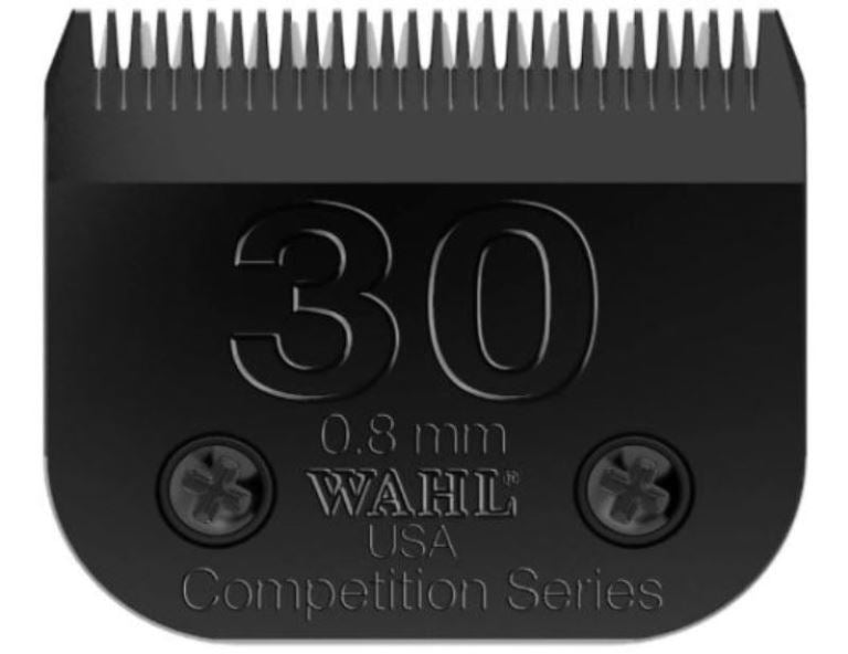 Wahl 2355-500 Fine Ultimate Competition Series Size 30 Detachable Pet Clipper Trimmer Shaver Razor Replacement Blade for Model KM2 5 10 PowerGrip SS Pro Stable Pro Plus