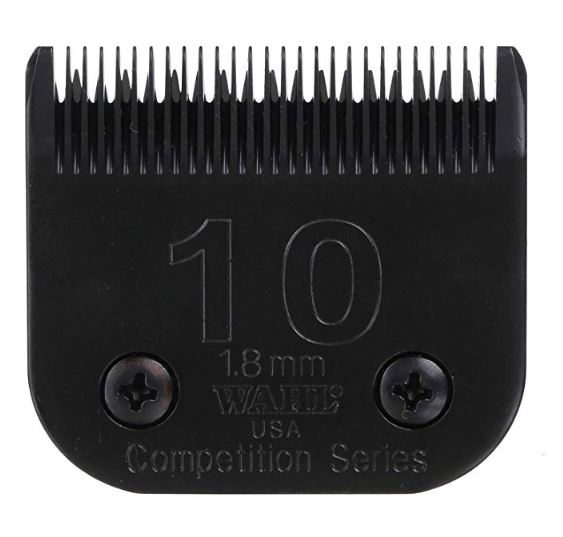 Wahl 2358-500 Medium Ultimate Competition Series Size 10 Detachable Pet Clipper Trimmer Shaver Razor Replacement Blade
