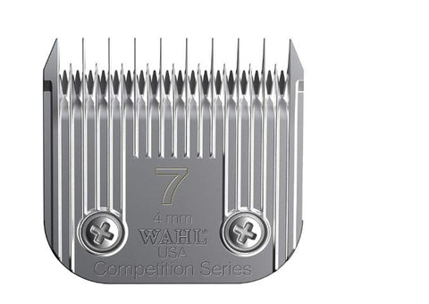Wahl 2367-100 Professional Skip Medium Competition Series Size 7 Detachable Pet Clipper Trimmer Shaver Razor Replacement Blade
