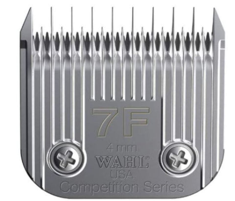 Wahl 2368-100 Full Medium Competition Series Size 7F Detachable Pet Clipper Trimmer Shaver Razor Replacement Blade for Model KM2 5 10 PowerGrip SS Pro Stable Pro Plus