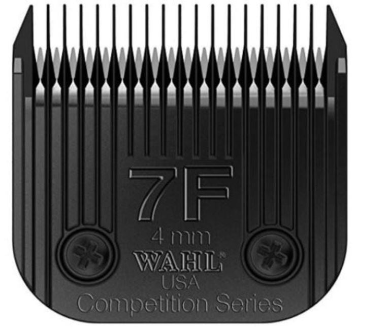 Wahl 2368-500 Professional Ultimate Competition Series Size 7F Detachable Pet Clipper Trimmer Shaver Razor Replacement Blade