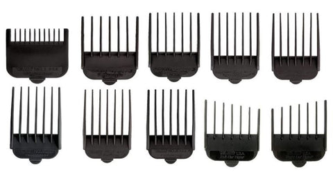 Wahl 3173-500 10 PC Pet Guide Comb Set for Pro Ion Deluxe U-Clip Clippers