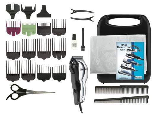Wahl 79520-500 Chrome Pro 25 Piece Grooming Clipper Haircut