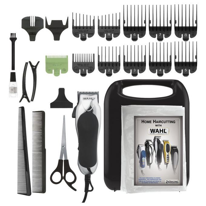 Wahl 79524-2501 Chrome Pro 24 Piece Grooming Haircut Kit
