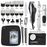 Wahl 79524/3001 Home Barber 30 Piece Grooming Clipper Haircut