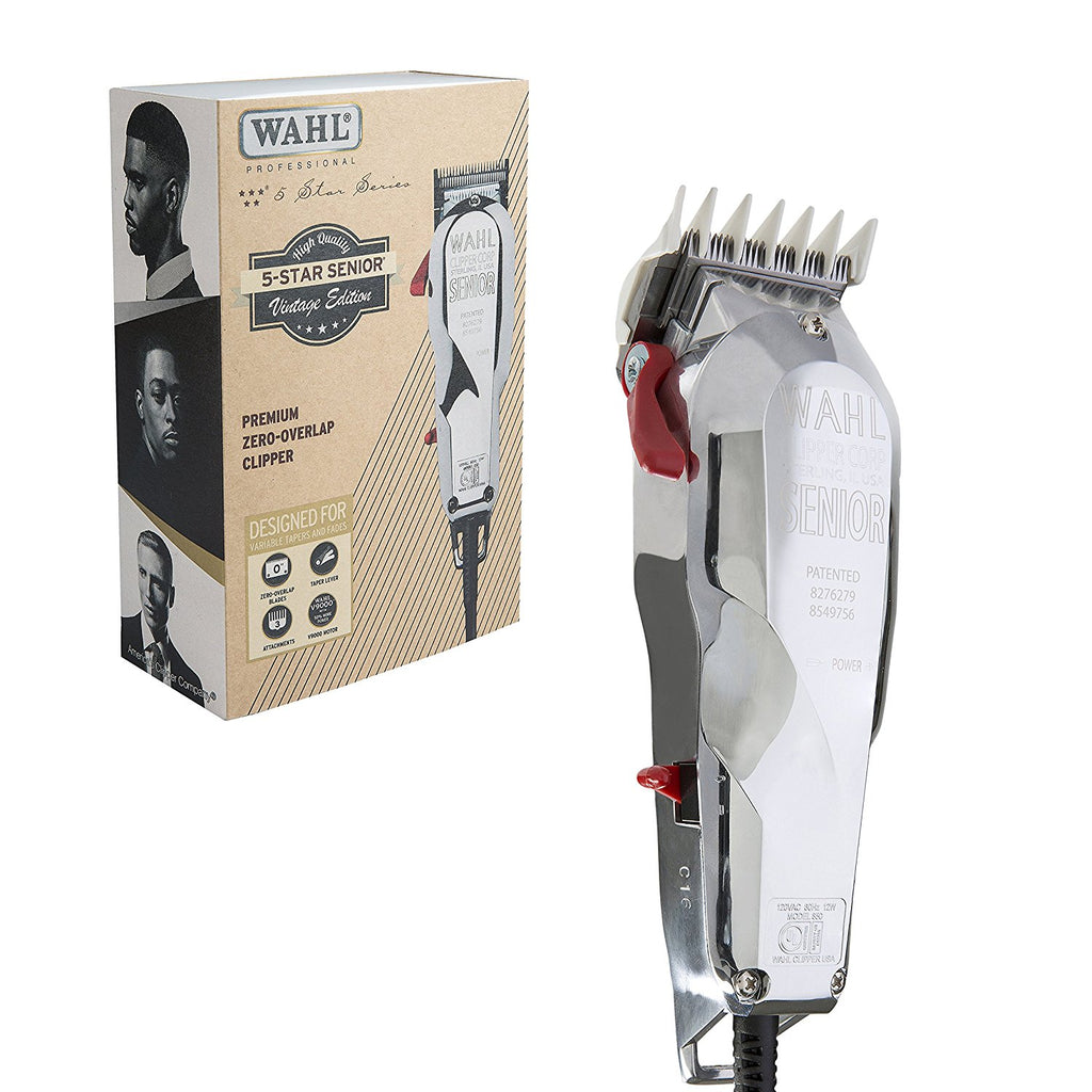 Wahl 8545-300 Five 5 Star Senior Vintage Edition Clipper Razor Trimmer
