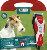Wahl 9484/300 U-Clip Deluxe Pro Home Dog Cat Pet Grooming Clipper Trimmer