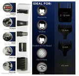 Wahl GroomsMan Combo Cordless Hair Clipper Cutter Trimmer Shaver Razor Detailer Haircutting Kit