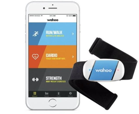 Wahoo TICKR Heart Rate Calories Burned Monitor Bluetooth ANT+