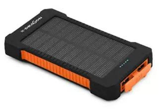 X-Dragon 10000mAh Solar Panel Portable Charger Power Bank