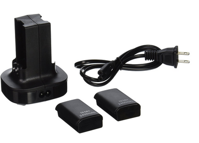 Xbox 360 2 Pack Rechargeable Battery + Charging Station