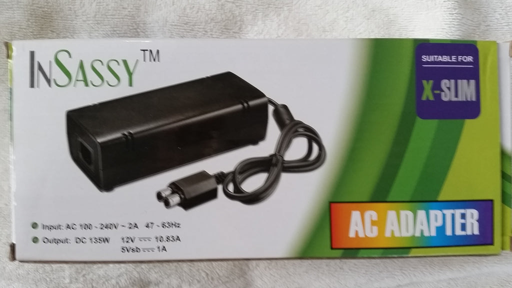 Xbox 360 Slim Gen AC Adapter Power Supply