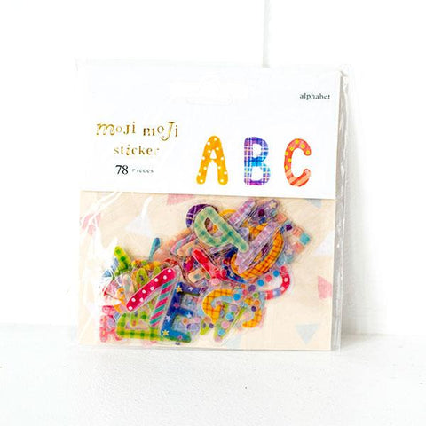 Alphabet Stickers L018