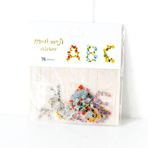 Moji Moji Alphabet Stickers B10