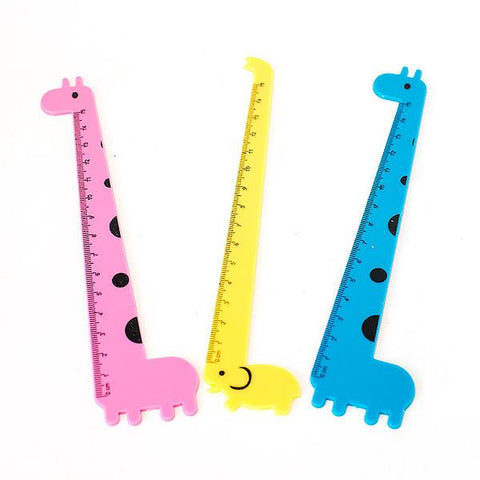 Fun and Cute Animal Shaped Rulers